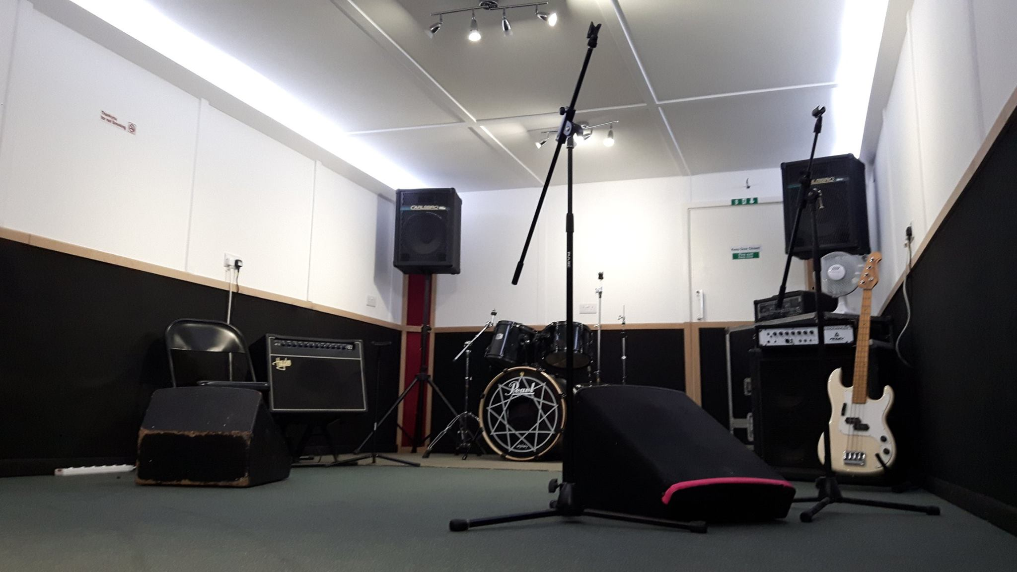 Drum n Basement Rehearsal Room Folkestone Music Town Kent
