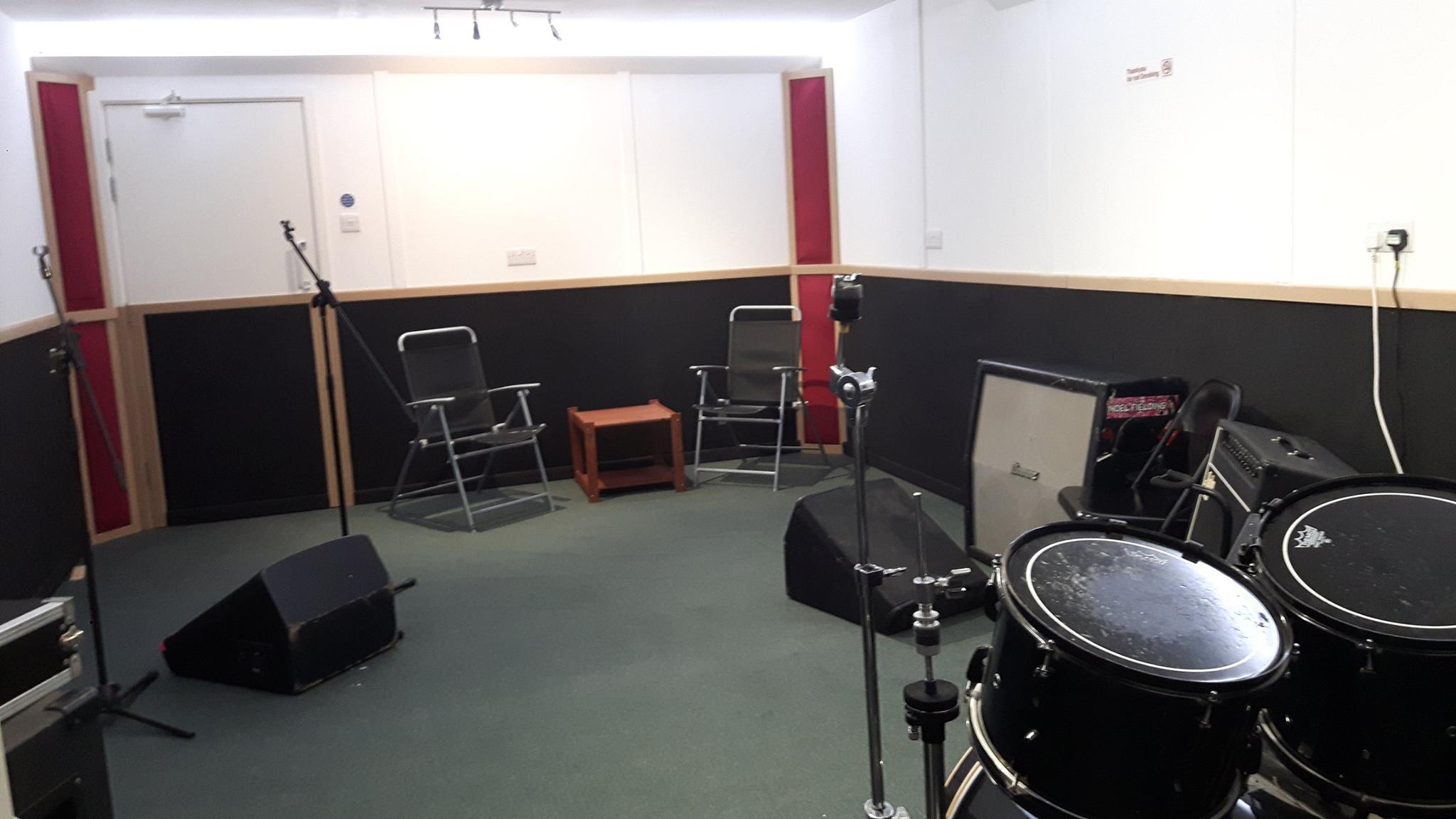 Drum n Basement - Rehearsal Room Folkestone Music Town Kent