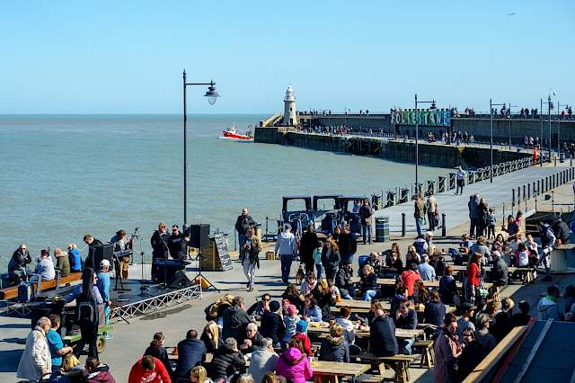 Live Music Venue Folkestone Harbour Arm